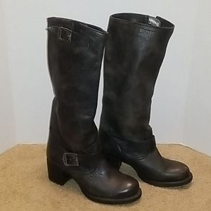 Frye Distressed Tall Boots